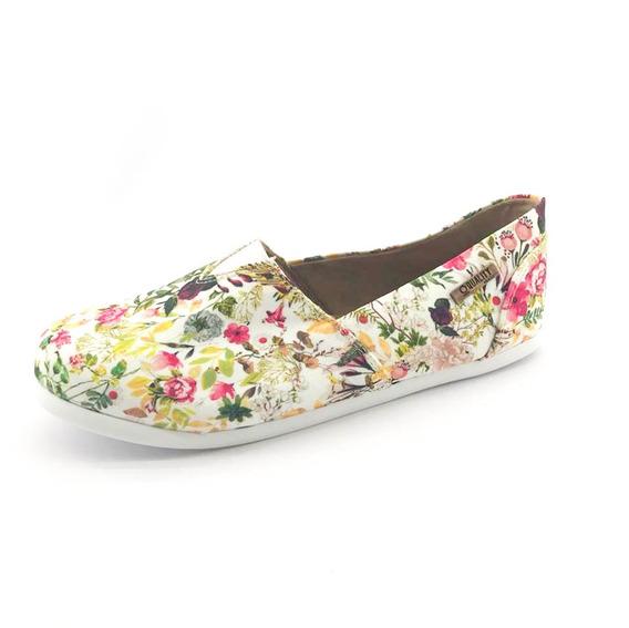 Alpargata Quality Shoes Feminina 001 Floral 217