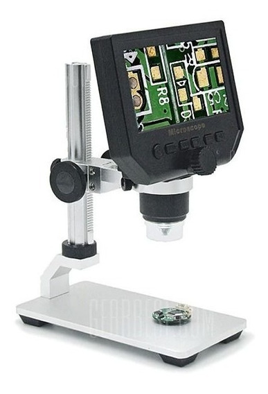 Microscópio Digital Portátil Zoom 600x Tela Lcd 4.3 Hd 3.6mp