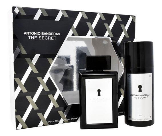 Set The Secret 2pzs 100ml Edt Spray + Desodorante 150ml Spra