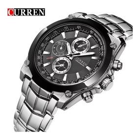 Relógio Masculino Metal 8023 Curren C/ Garantia