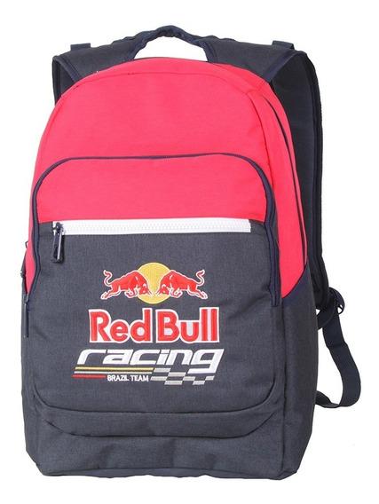 Mochila Red Bull Fastness Masculina Reforçada Moderna 18l