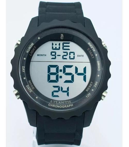 Relógio Masculino Digital Sport Atlantis A7457 Original