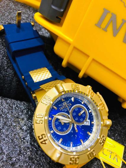 Relogio Invicta Subaqua 5515 Azul + Caixa Original