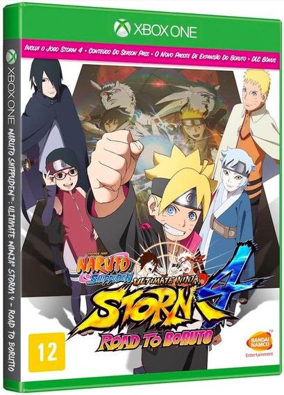Naruto Storm 4 Road Boruto Xbox One Disco Fisico Português