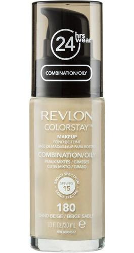 Imagen 1 de 5 de Base Maquillaje Colorstay 24hs -revlon- Piel Oleosa / Mixta