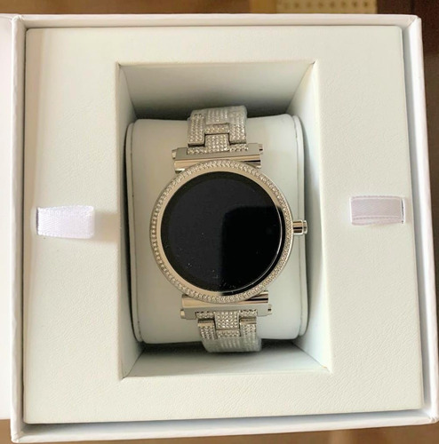 Smartwatch Relógio Michael Kors Access Sofie Mkt5024 Prata