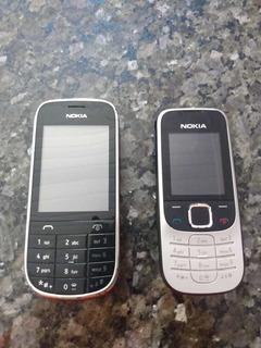 Lote 2 Celulares Nokia Antigo