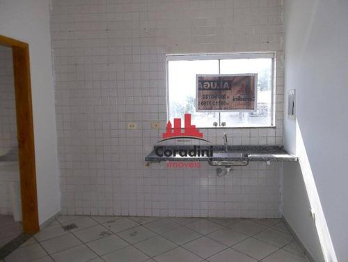 Kitnet Com 1 Dormitório Para Alugar, 50 M² Por R$ 650,00/mês - Antônio Zanaga Ii - Americana/sp - Kn0024