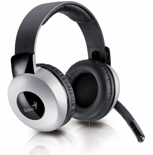 Imagen 1 de 3 de Auriculares Genius Hs 05a Headset Control Volumen Microfono