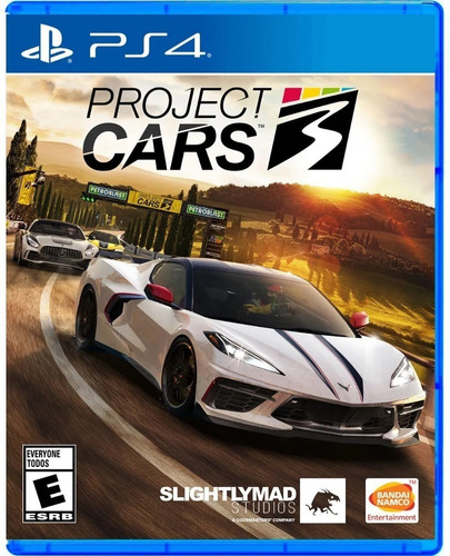 Imagen 1 de 3 de Project Cars 3 Ps4 Juego Fisico Sellado Original Sevengamer