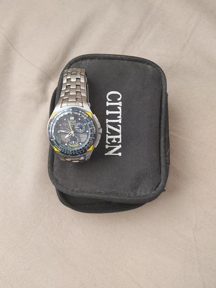 Relógio Citizen Blue Angels Titaniun C651