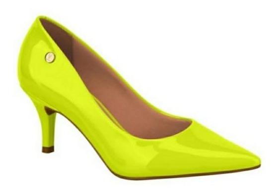 Sapato Scarpin Vizzano Neon Amarelo 1185.102