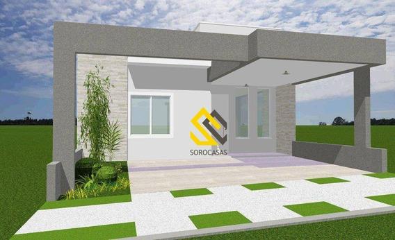 Casa Em Construção No Golden Park, 3dorm. - Ca1568