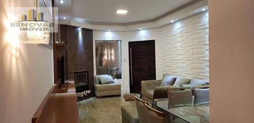 Imagem 1 de 19 de Casa Com 4 Dormitórios À Venda, 300 M² Por R$ 680.000 - Jardim Universo - Mogi Das Cruzes/sp - Ca0392