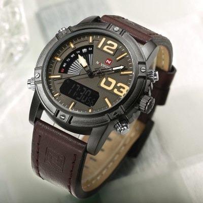Relógio Masculino Importado Naviforce Militar Aprova Dágua