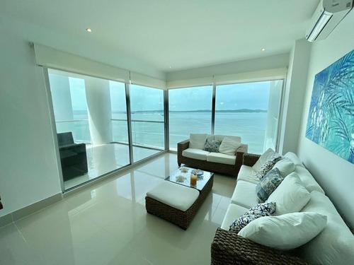 Imagen 1 de 14 de Apartamento En Venta Castillogrande  Cartagena.