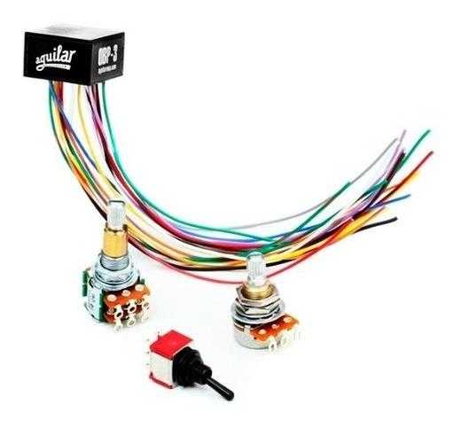 Circuito Kit Pre Amplificador Aguilar Obp-3sk Pp Contrabaixo