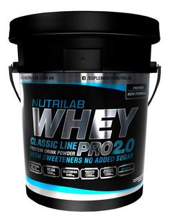 Whey Pro 5kg Nutrilab Proteina Suero Mejor Nacional Hot Sale