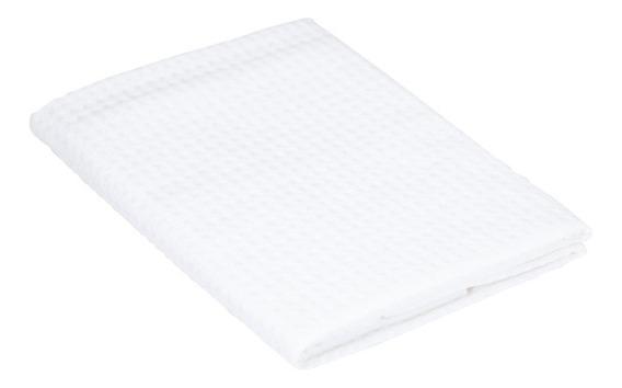 Porta Travesseiro Teka Branca Liso Tecido Piquet 50x70cm