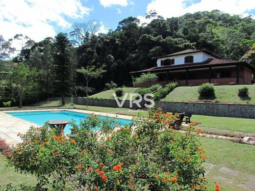 Imagem 1 de 25 de Casa Com 4 Dormitórios À Venda, 741 M² Por R$ 1.380.000,00 - Fazenda Boa Fé - Teresópolis/rj - Ca0272