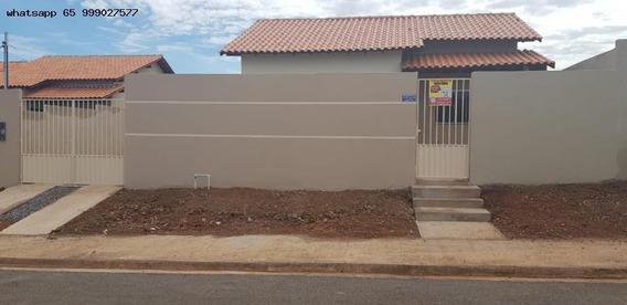 Casa Para Venda Em Várzea Grande, Novo Mundo, 2 Dormitórios, 1 Banheiro - 234_1-1321488
