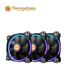 Fan Thermaltake Riing 12 Led Rgb 12 Cm Pack Triple