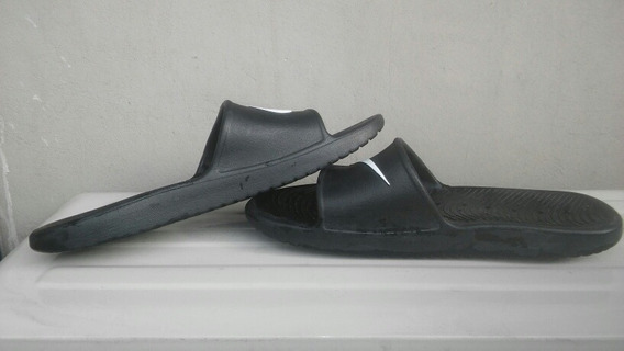 Ojotas Nike Kawa Shiwer Slide- Negras Originales