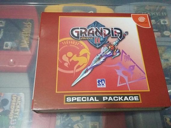Grandia || Special Package Original Completo Sega Dreamcast