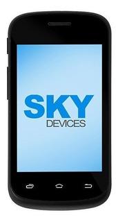 Celular Sky Devices Fuego 3.5m Preto 4gb 3g 5mp Android