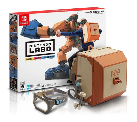 Nintendo Kit Switch Labo Robot Nintendo