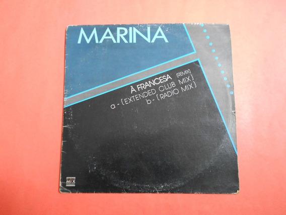 Lp - Marina Lima - À Francesa - Remix - Dj Meme