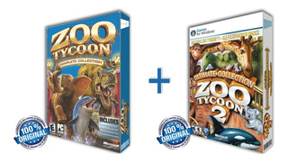 Zoo Tycoon 1 Y 2 Complete Collection