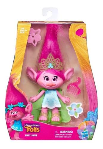 Hasbro Figura Trolls Dreamworks Poppy 23 Cm Accesorios