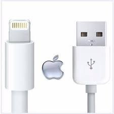 Kit 5 Cabo Usb Carregador Usb Apple iPhone 5/6/7/8 5w Usb