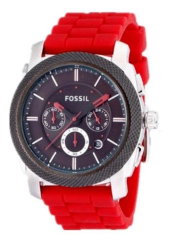 Relógio Fossil Masculino Ffs4598z Vermelho