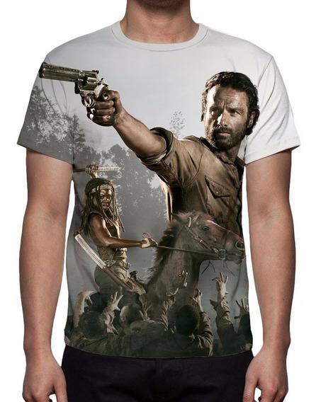 Camisa, Camiseta Série The Walking Dead 6ª Temporada Mod 02