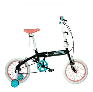 Bicicleta Infantil Plegable Disney Bia Rodado 16 Cuotas