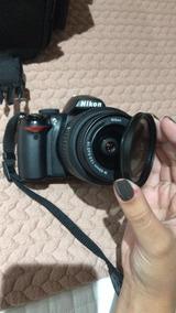 Câmera Nikon D3000 + Lente 18-55mm + Carregador De Bateria