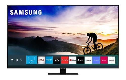 Samsung Smart Tv 55 Polegadas Qled 4k Q80t, Pontos Quânticos