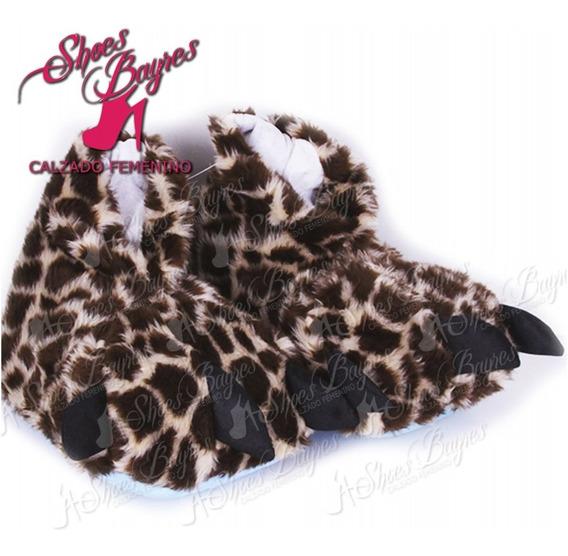 Pantuflas Pesuña Garra Niños Talles 24-33 De Shoes Bayres