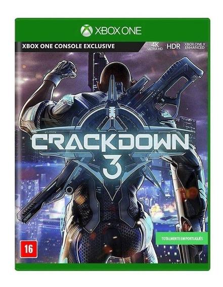 Crackdown 3 - Xbox One Midia Fisica Dvd