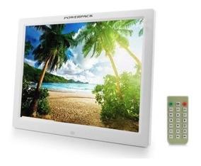 Porta Retrato Digital Powerpack Dpf-1718 - 17 Polegadas - Br