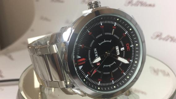 Relógio Masculino Pulso Curren 8266 Quartzo Esportivo K3857