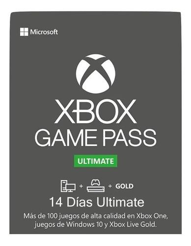 Xbox Game Pass Ultimate 14 Dias Renovacion