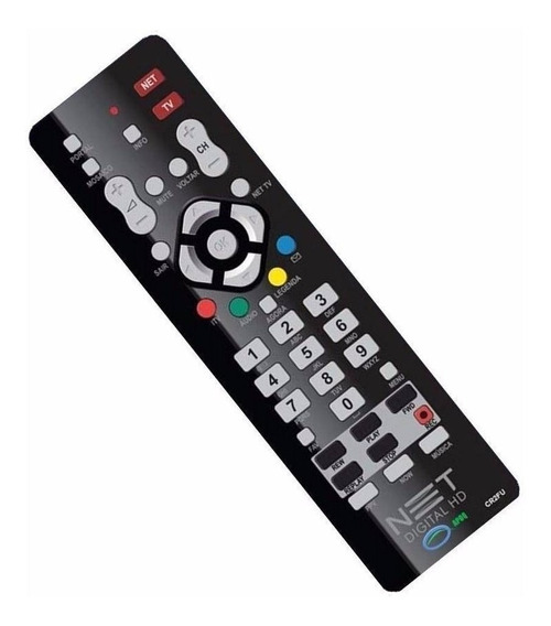 Kit 4 Controles Remoto Net Hd - Novo 100% Original