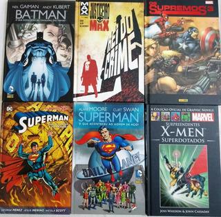 Hq - Batman Justiceiro Supremos Superman X Men - Capa Dura
