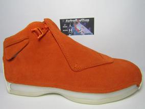 Jordan Xviii Orange Suede Edition Caja (27 Mex) Astroboyshop