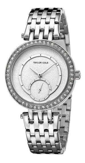 Reloj De Pulsera Con Hebilla De Seguridad Para Mujer, Cuarzo
