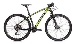 Bike Agile Sport 20 Vel. Quadro De Carbono Verde