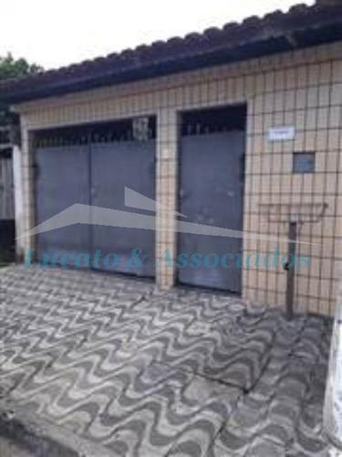 Casa Térrea Na Vila Sonia Em Praia Grande - Sp, 02 Dormitórios, Sala, Cozinha, Banh. Social, Quintal, Área De Serviço, 02 Vagas De Garagem + 1 Edícula - Ca00351 - 68065105